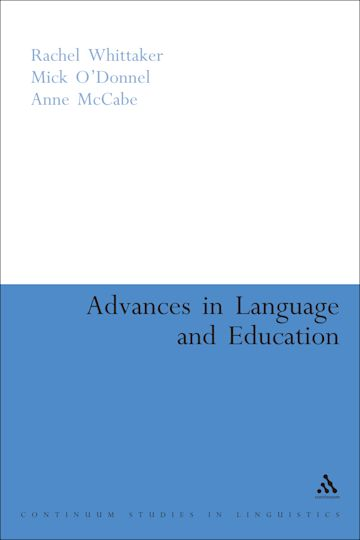 Advances in Language and Education cover