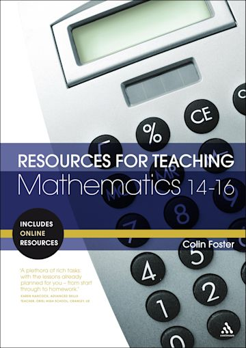 Resources for Teaching Mathematics: 14-16 cover