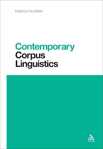 Contemporary Corpus Linguistics cover