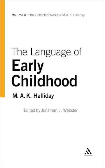 The Language of Early Childhood cover