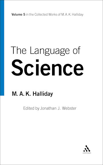 The Language of Science cover