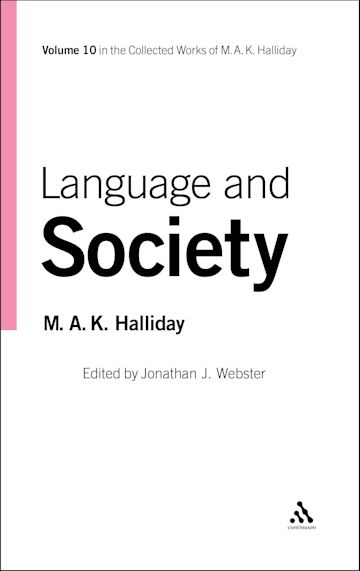 Language and Society cover