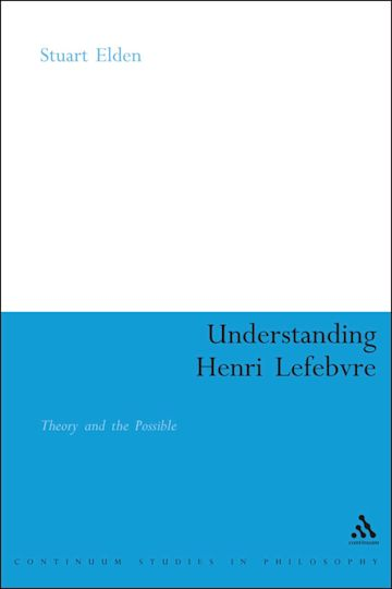 Understanding Henri Lefebvre cover