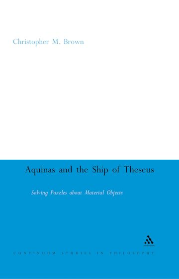 Aquinas and the Ship of Theseus cover