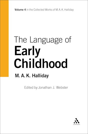 Language of Early Childhood cover