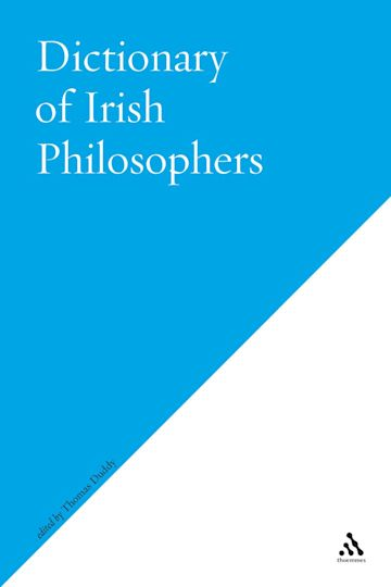 Dictionary of Irish Philosophers cover