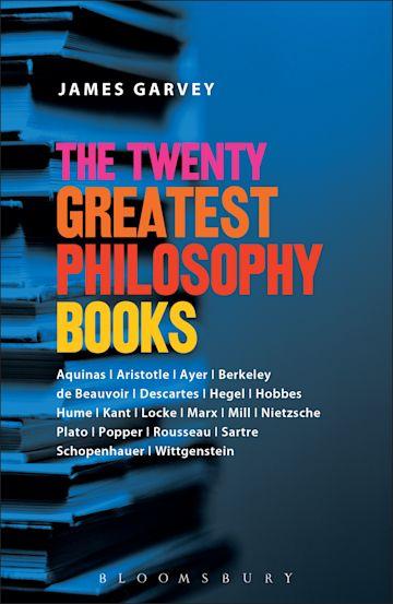 The Twenty Greatest Philosophy Books cover