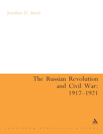 The Russian Revolution and Civil War 1917-1921 cover