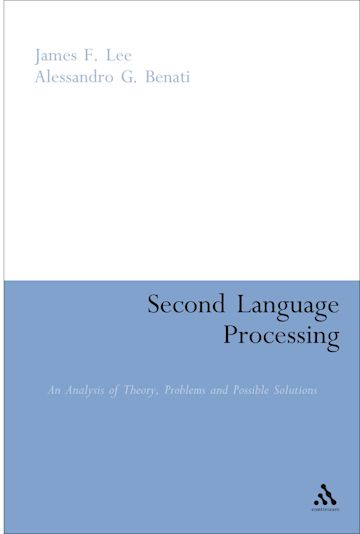 Second Language Processing cover