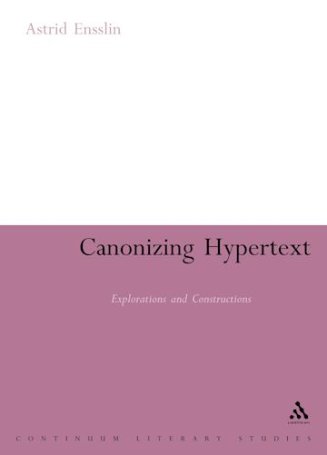 Canonizing Hypertext cover
