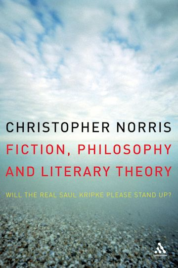 Fiction, Philosophy and Literary Theory cover