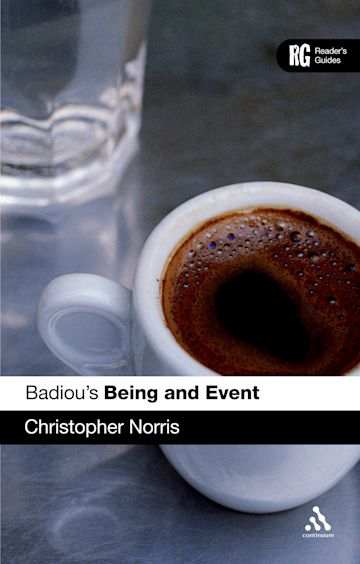 Badiou's 'Being and Event' cover