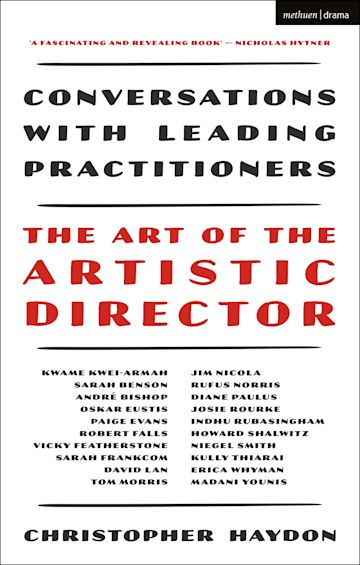 The Art of the Artistic Director cover
