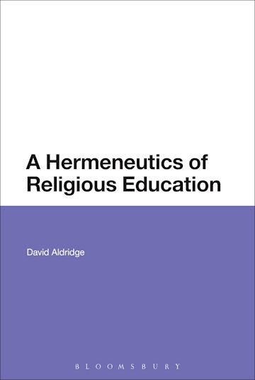 A Hermeneutics of Religious Education cover