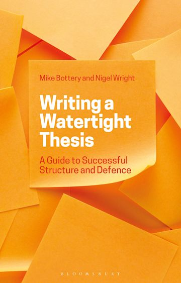 Writing a Watertight Thesis cover