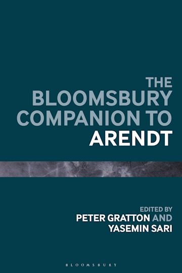 The Bloomsbury Companion to Arendt cover