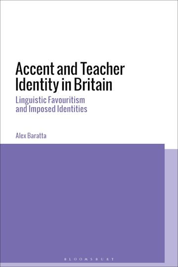 Accent and Teacher Identity in Britain cover