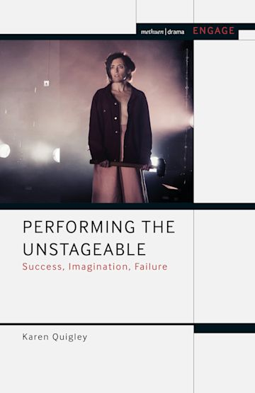 Performing the Unstageable cover