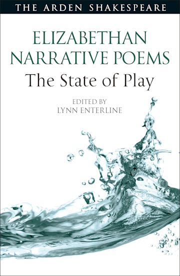 Elizabethan Narrative Poems: The State of Play cover
