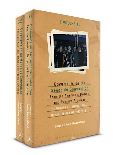 Documents on the Genocide Convention from the American, British, and Russian Archives cover
