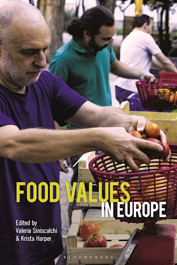 Food Values in Europe cover