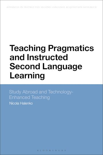 Teaching Pragmatics and Instructed Second Language Learning cover