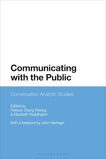 Communicating with the Public cover