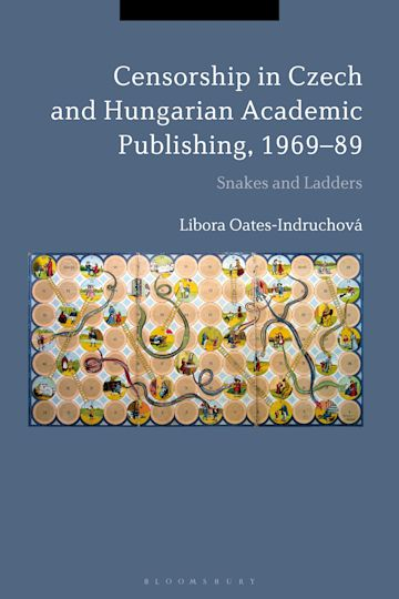 Censorship in Czech and Hungarian Academic Publishing, 1969-89 cover
