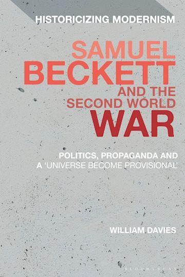 Samuel Beckett and the Second World War cover