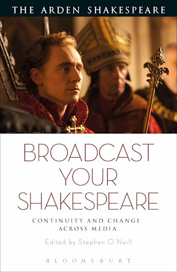 Broadcast your Shakespeare cover