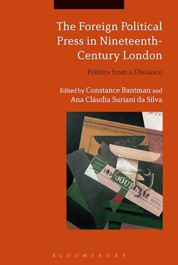 The Foreign Political Press in Nineteenth-Century London cover