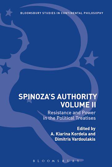 Spinoza's Authority Volume II cover