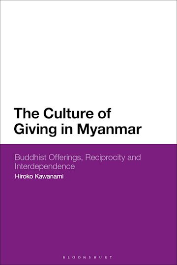 The Culture of Giving in Myanmar cover