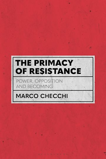 The Primacy of Resistance cover