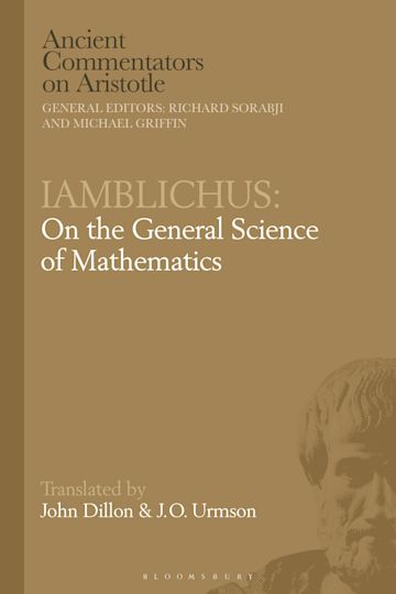 Iamblichus: On the General Science of Mathematics cover