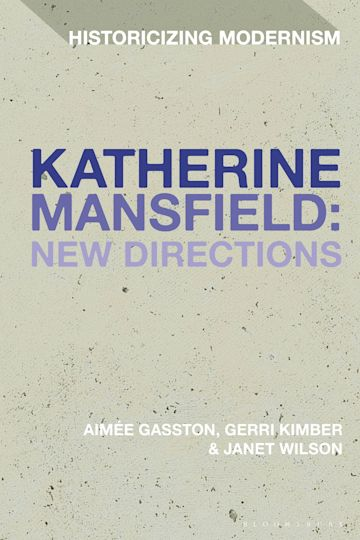Katherine Mansfield: New Directions cover