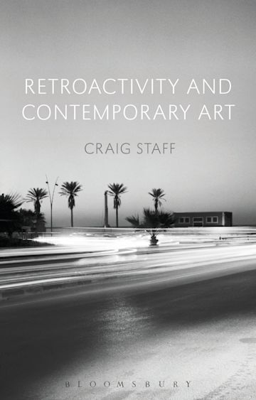 Retroactivity and Contemporary Art cover
