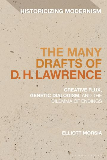 The Many Drafts of D. H. Lawrence cover