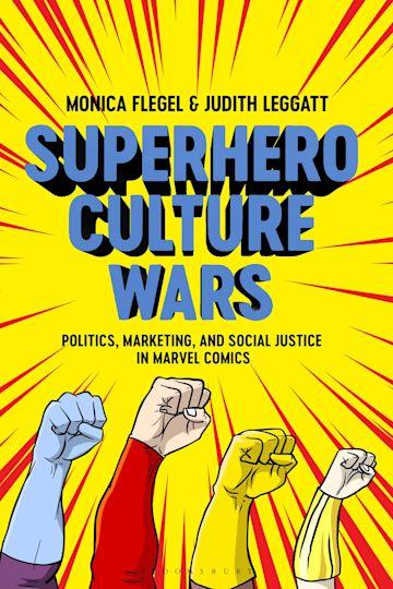 Superhero Culture Wars cover