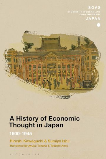A History of Economic Thought in Japan cover