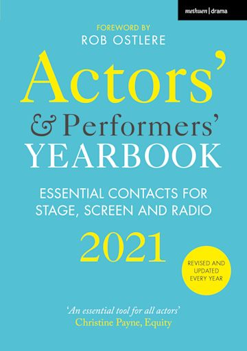 Actors' and Performers' Yearbook 2021 cover
