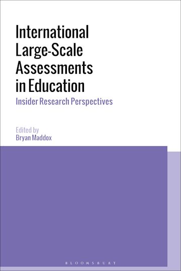 International Large-Scale Assessments in Education cover