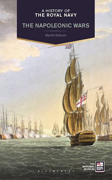 A History of the Royal Navy cover
