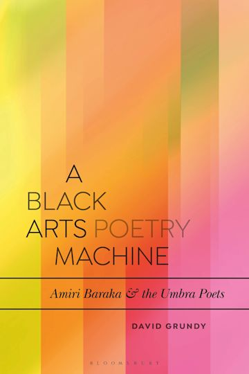 A Black Arts Poetry Machine cover