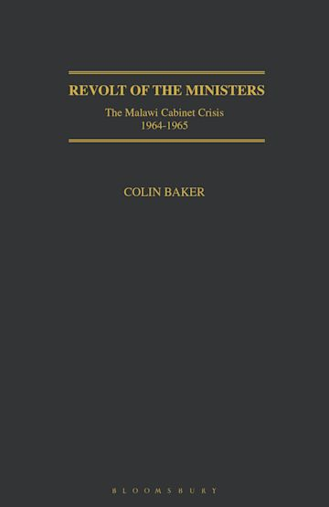 Revolt of the Ministers cover