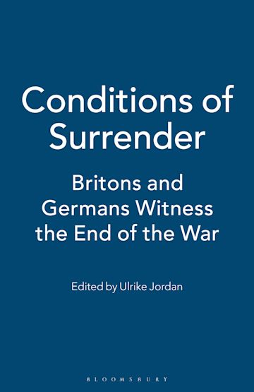 Conditions of Surrender cover
