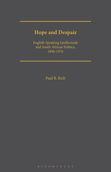 Hope and Despair cover