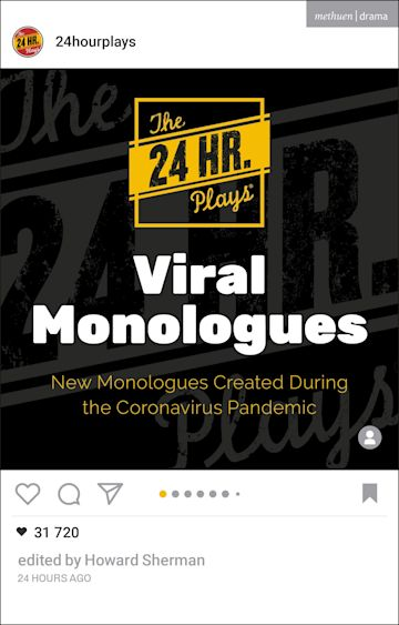 The 24 Hour Plays Viral Monologues cover