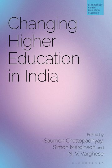 Changing Higher Education in India cover