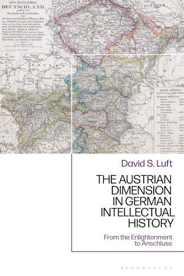 The Austrian Dimension in German Intellectual History cover